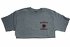 Denison Football T-Shirt Grey