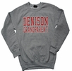 Denison Grandparent Comfort Fleece Crew Gray