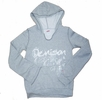 Denison Junior Pullover Hoodie Grey