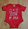 Denison Kids Onesie 100% Denison Fan
