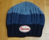 Denison Knit Hat Tri Color Blue