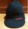 Denison Knit Hat with Bill Black
