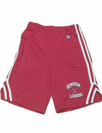 Denison Champion Lacrosse Red Attack Short