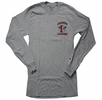 Denison Lacrosse Long Sleeve Shirt Grey