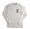 Denison Lacrosse Long Sleeve Shirt White
