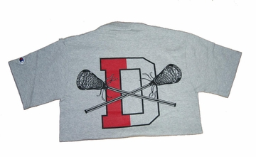 Denison Lacrosse Short Sleeve T-Shirt Grey