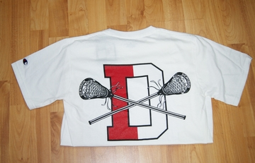 Denison Lacrosse Short Sleeve T-Shirt White