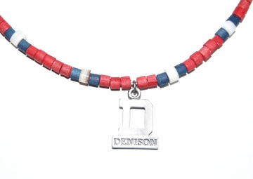 Denison Large Necklace Red