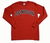 Denison Long Sleeve T Red