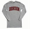 Denison Long Sleeve T White