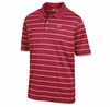 Denison Mens Scoring Stripe Polo Classic Red