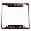Denison Metal License Plate Holder