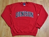 Denison MV Embroidered Rec Crew Sweatshirt Red