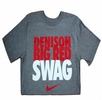 Denison Nike Big Red Swag Tee Grey XL