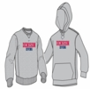 Denison Nike Diving Fleece Hoodie Grey