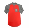 Denison Nike Dri-fit Henly Top Red