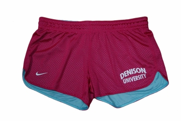 Denison Nike Hero Mesh Short Cerise