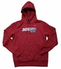 Denison Nike KO Fleece Hoody Red/ White