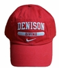 Denison Nike Sports Hat Diving Red