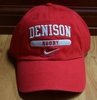 Denison Nike Sports Hat Rugby Red