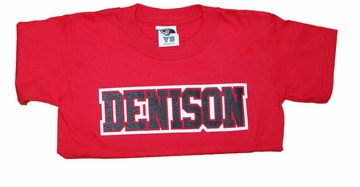 Denison Youth Classic Tee Red