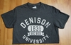 Denison Retro Heathered Tees Charcoal