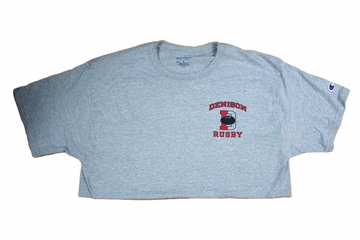 Denison Rugby Tee Oxford Grey