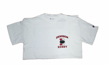Denison Rugby Tee White