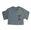 Denison Softball T-Shirt Grey