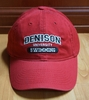 Denison Sports Hat Swimming Red