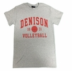 Denison Sports Tee Volleyball Gray