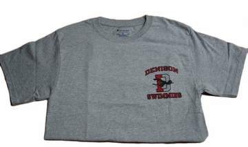 Denison Grey Swimming Tee