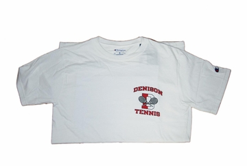 Denison Tennis Tee White