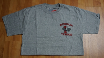 Denison Tennis Tee Grey