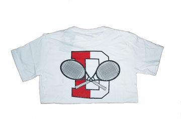 Denison Champion Tennis Tee White
