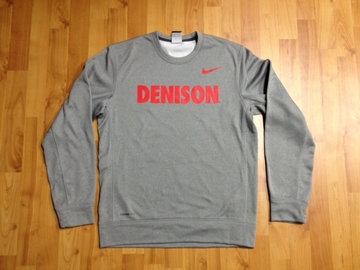 Denison Therma-Fit Fleece Crew Dark Heather