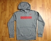 Denison Therma-Fit Fleece Hoodie Grey Sweatshirt
