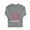 Denison Toddler Long John Shirt Grey