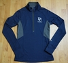 Denison Under Armour Cold Gear Compression 1/2 Zip Midnight Navy