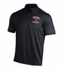 Denison Under Armour Lacrosse Performance Polo Black