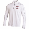 Denison Under Armour Lacrosse Proven Mock Long Sleeve White