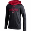 Denison Under Armour SMU Boys Charged Cotton Hoody Black/ Red