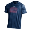 Denison Under Armour Tech Tee Novelty Midnight Navy