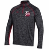Denison Under Armour Tech Twist 1/4 Zip Black/ Red