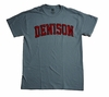 Denison Unisex Grey T-Shirt
