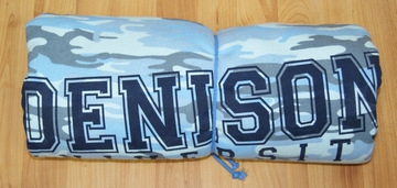 Denison University Blanket Blue Camo