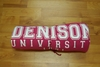Denison University Blanket Pink with White