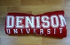 Denison University Blanket Red