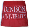 Denison University Flag 4'X6' Red