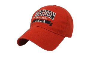 Denison University Soccer Hat Red